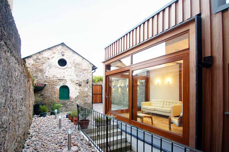 cork architects house extension passive house