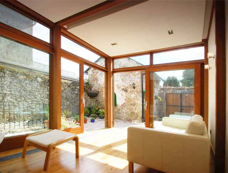 extension protected structure cork architect