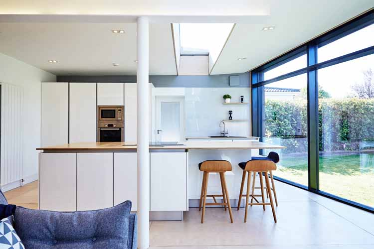 Architects cork kitchen passive