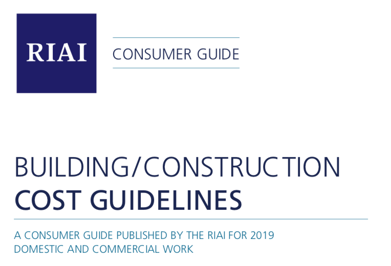 RIAI CONSUMER COST GUIDELINES 2019