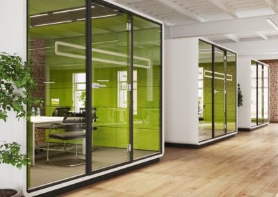Janssen Pharmaceutical Hush L Meeting Pods